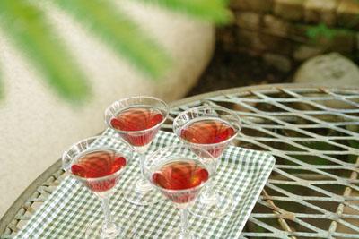 ワインとお花のコーディネートレッスン08