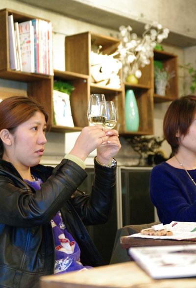 ワインとお花のおいしいコーディネートレッスン15