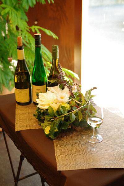 ワインとお花のおいしいコーディネートレッスン18