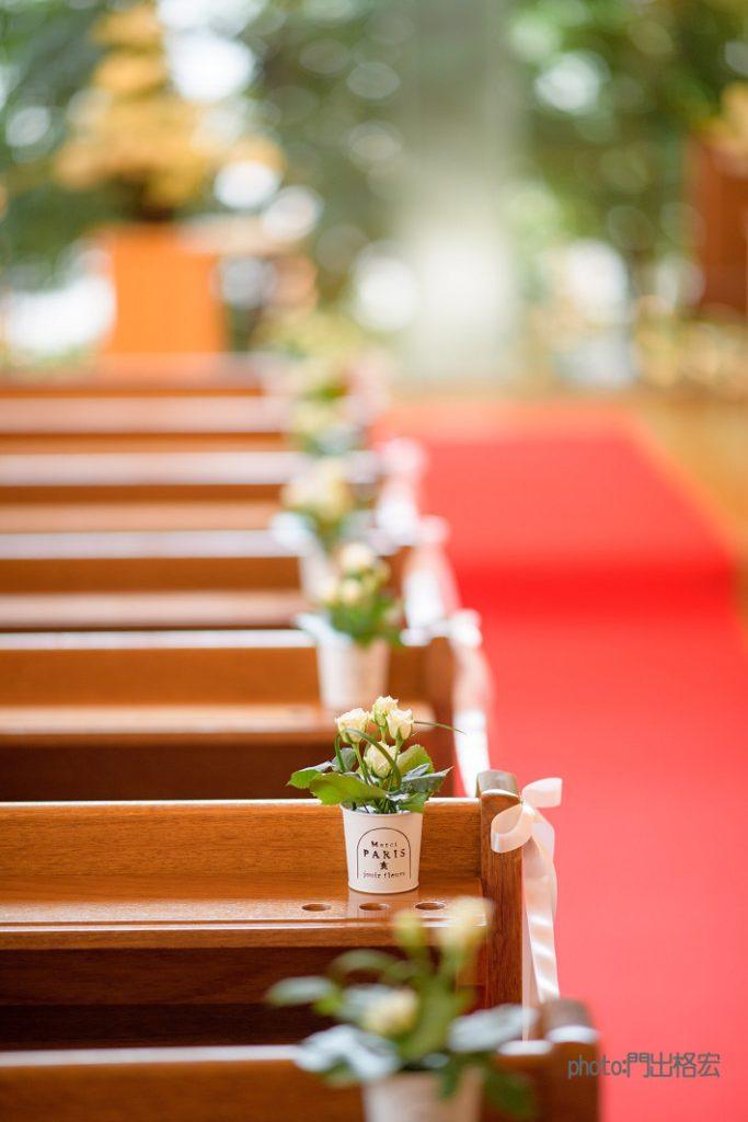 中央聖書教会 バラ装飾