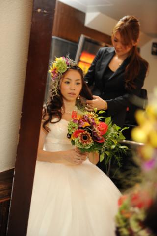 ハワイアン風ヘッドドレス-wh1701