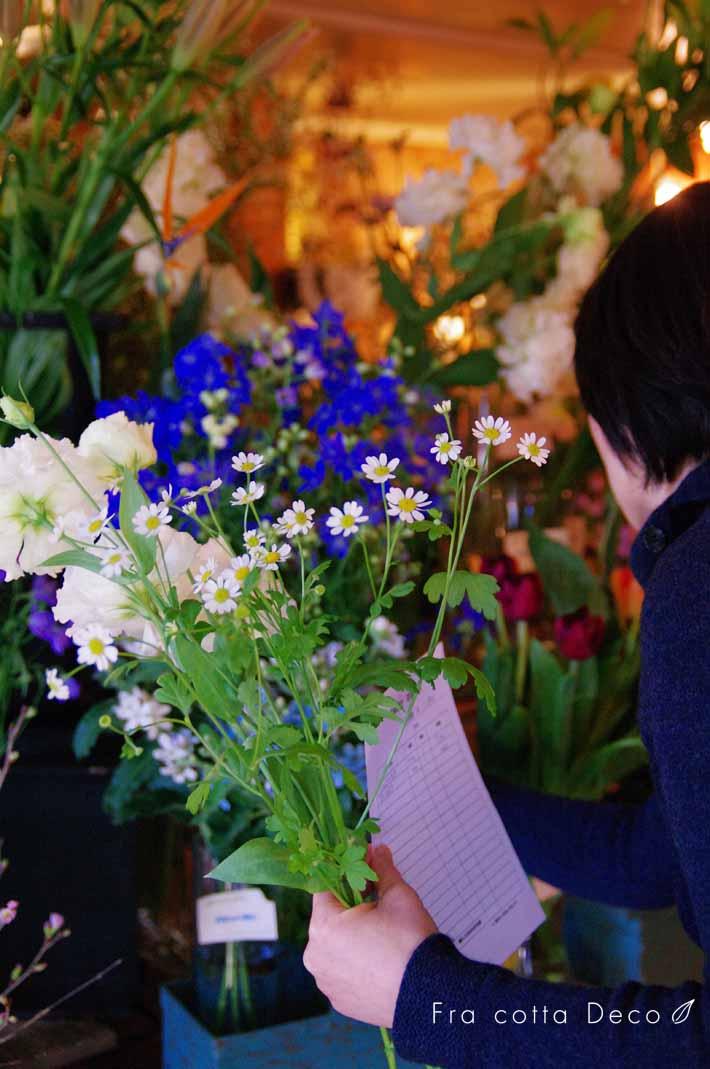 お花の選択レッスン