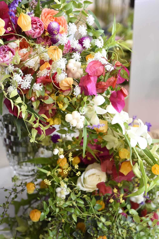 リースレッスン日程追加と花展写真集