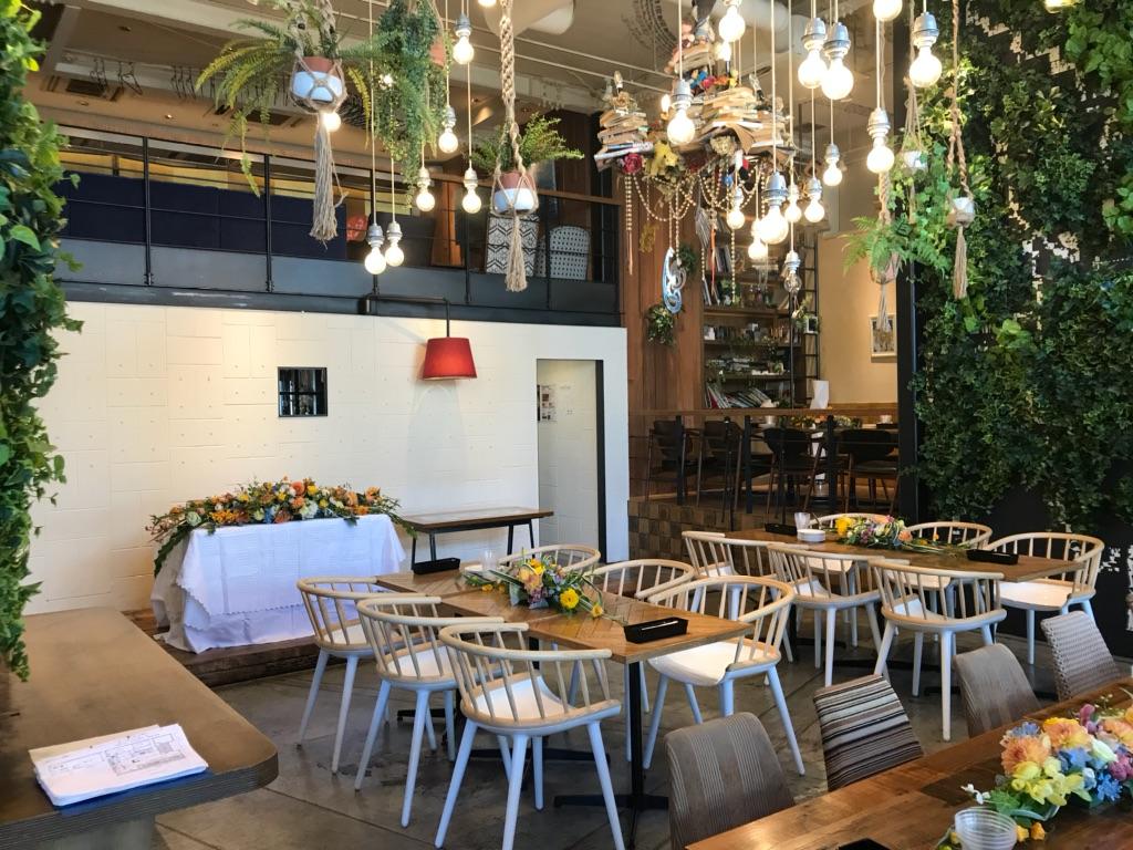 昼下がり、お洒落なカフェでウェディング!!CAFE ZENON