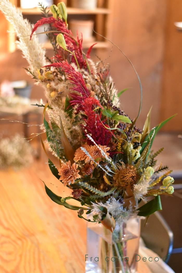 秋・・・ホッコリ色のお花が沢山