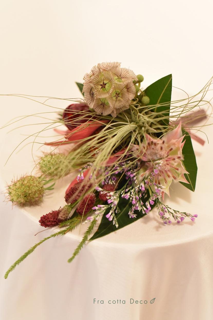 どのお花を選ぼうかな☆わくわくドキドキの花材選択