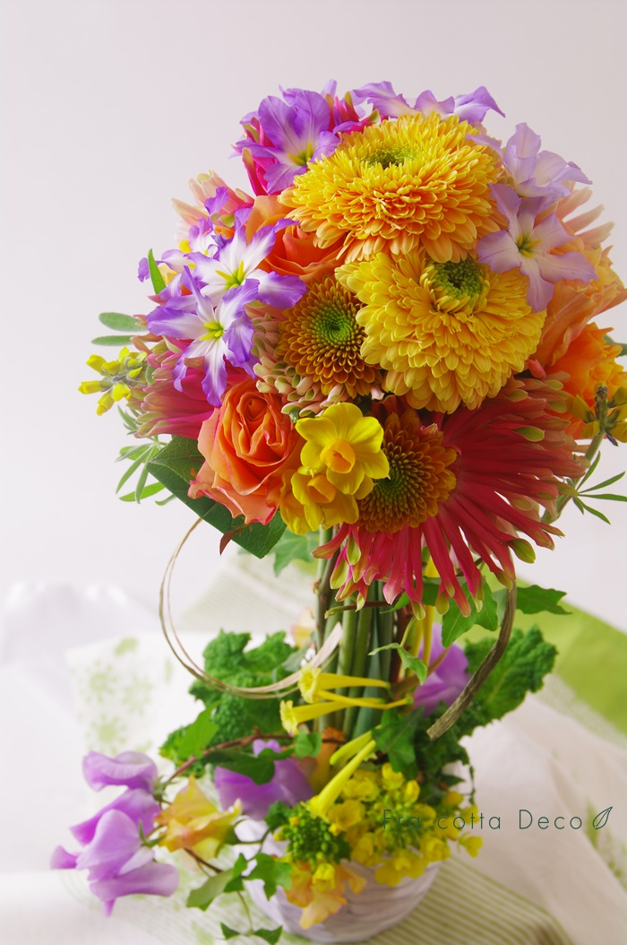 お花選びを再開しています